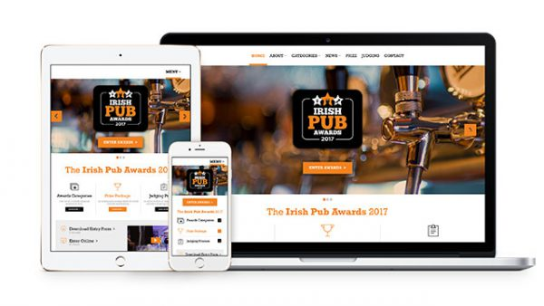 Irish Pub Awards Website
